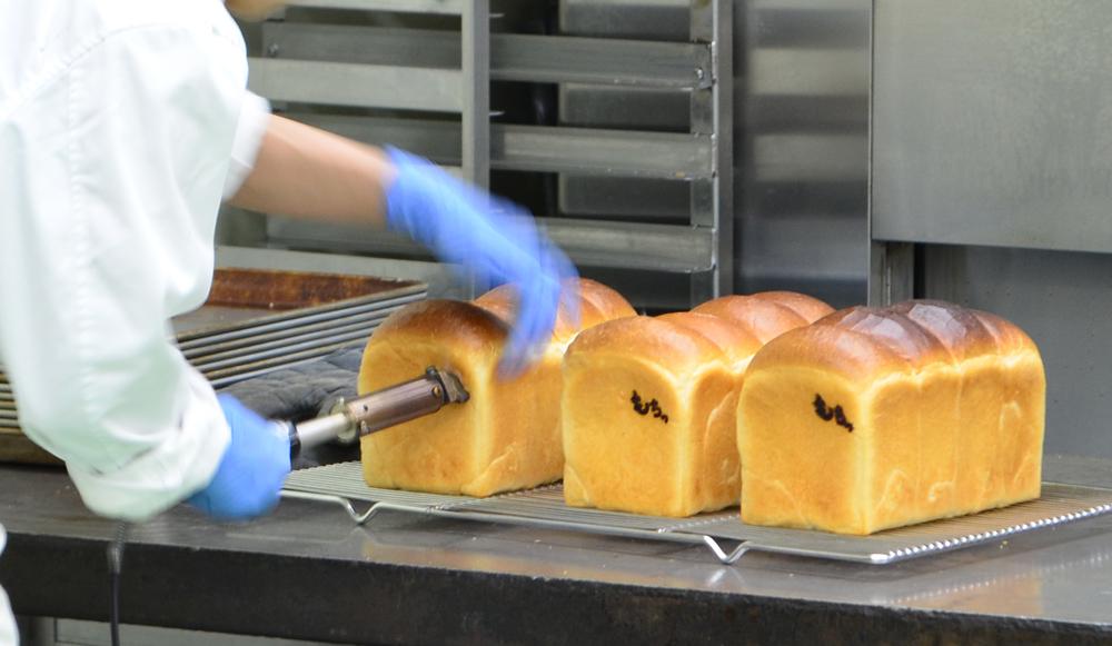 ありあけマルシェ 食パン焼き印