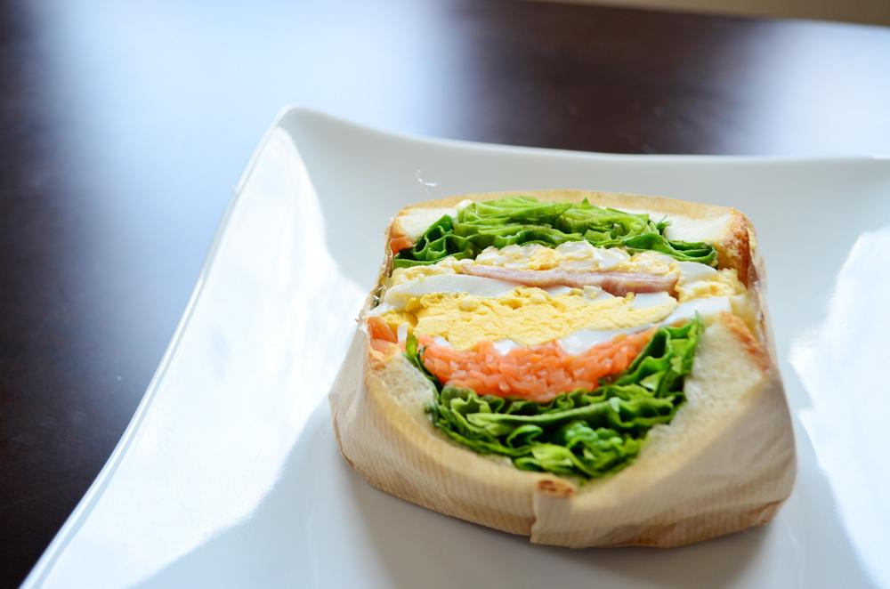 ありあけマルシェ サンドイッチ