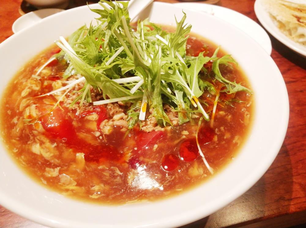 東京餃子軒 スーラータン麺